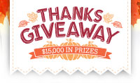 Thanksgiveaway Sweepstakes
